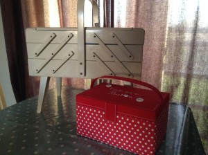 13. Sewing boxes